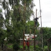 Elektriciteitskabels in Ndala