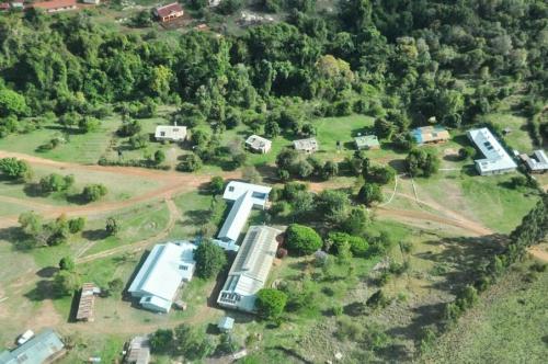 Luchtfoto Entasekera Health Centre